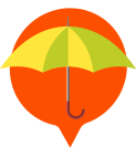 Graphic of an umbrella - Insurance
