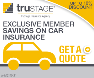 Promotional Image - Trustage - Exclusive Member Savings on Car Insurance - Get A Quote